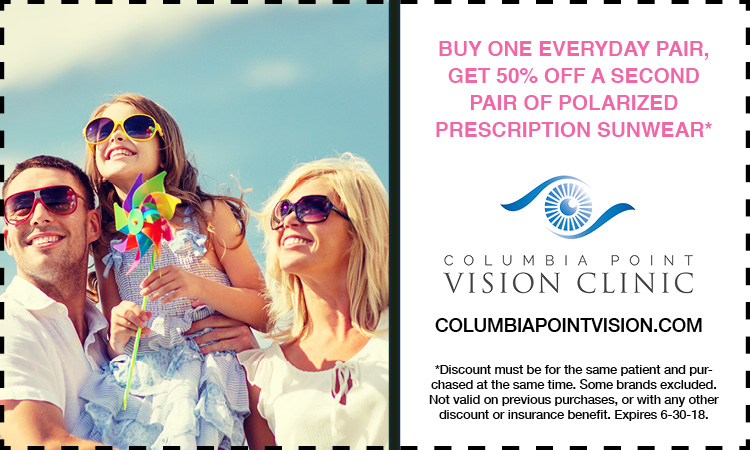 Columbia Point Vision Clinic Promotion
