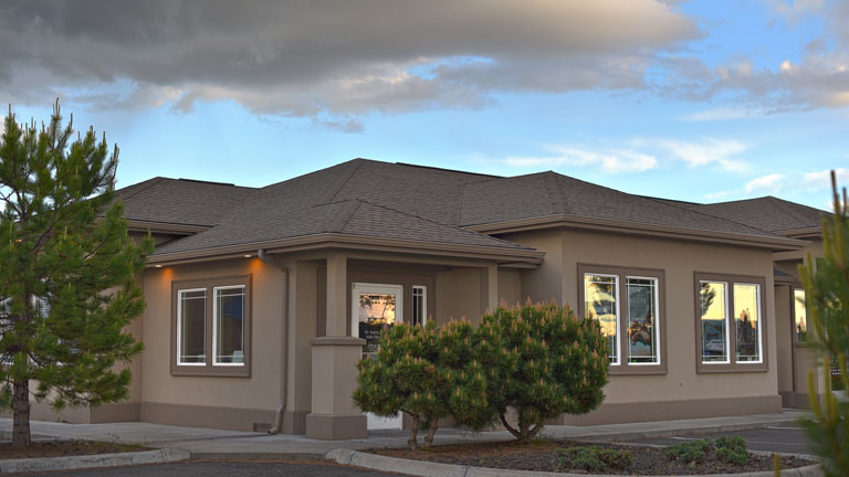 front of kennewick office building